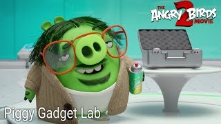 The Angry Birds Movie 2 - Piggy Gadget Lab Scene