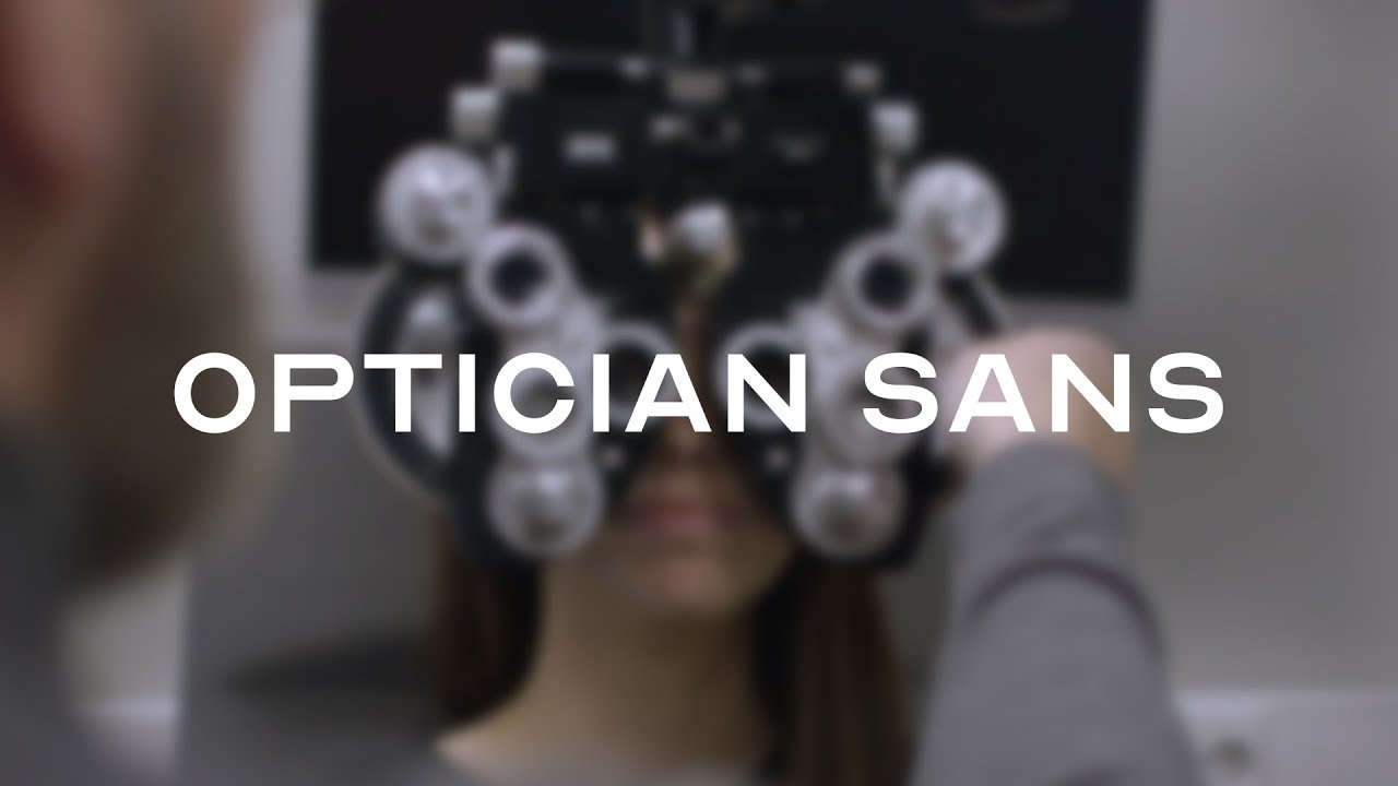 Optician Sans – Free font based on historical optotypes