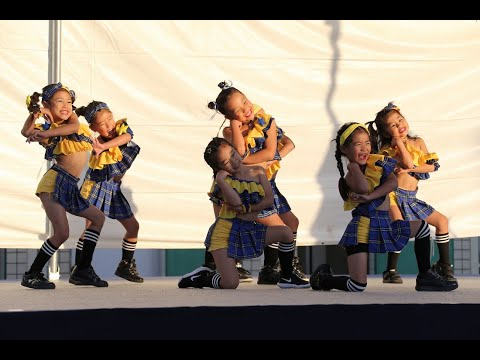 寝屋川文化芸術祭 ねや市ステージダンスコンテスト ピンクチャイルド小学生 【リトルピンク】