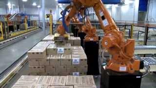 ABB Robotics - Palletizing Cartons