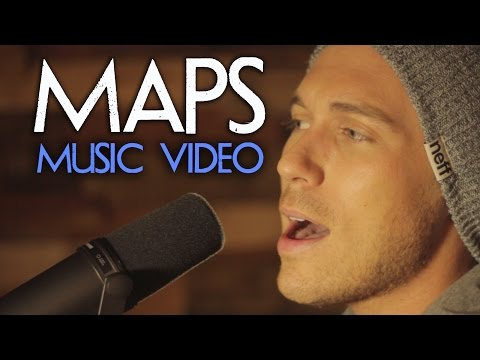 Maps - Maroon 5 - Official RUNAGROUND Music Video Lyrics Version (Cover)
