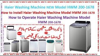Haier Fully Automatic Washing …