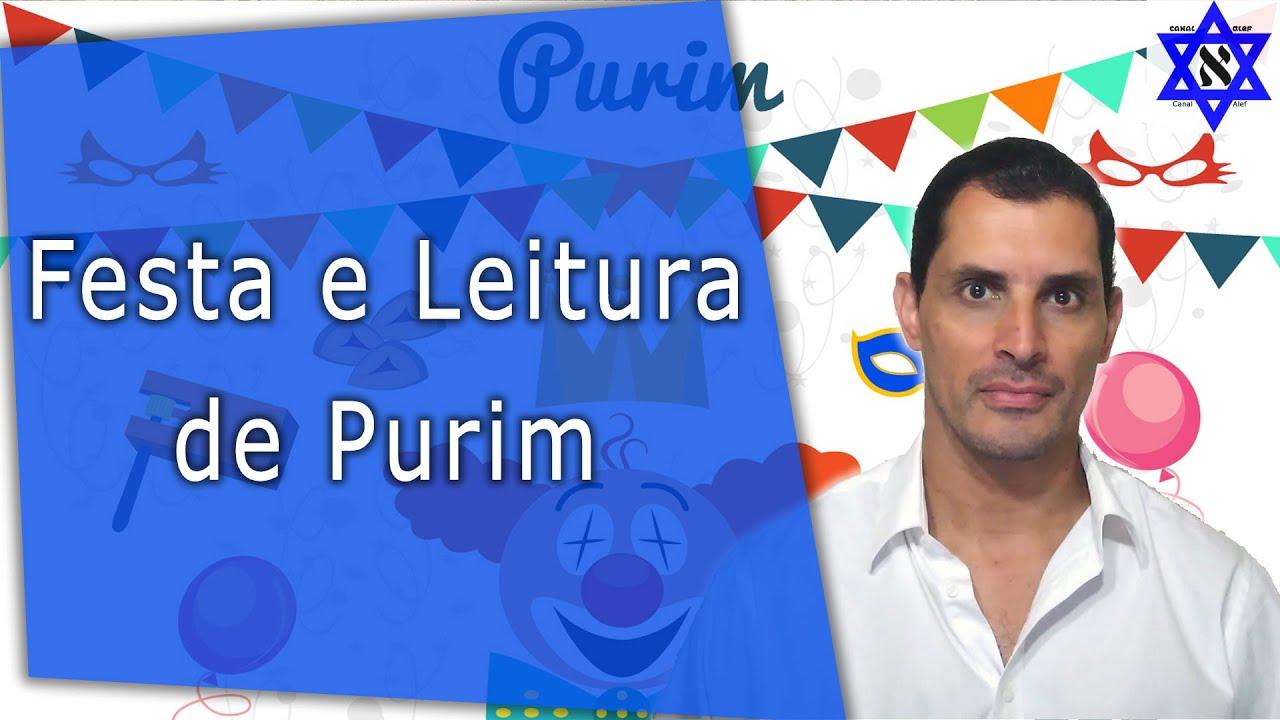 Festa e Leitura de Purim - Canal Alef