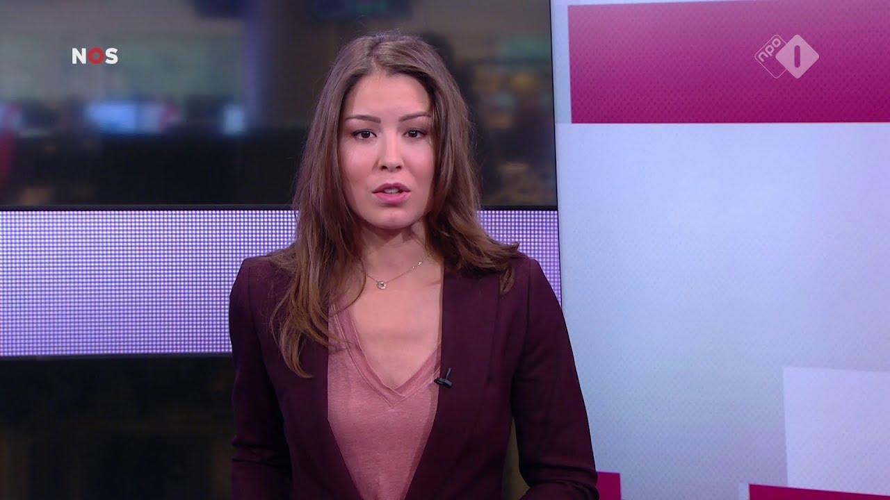Amber Brantsen Nos Journaal Presentatrice 23 November 2017 13 00