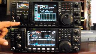 icom 7600 vs ic 756 pro iii part 1 construction and layout