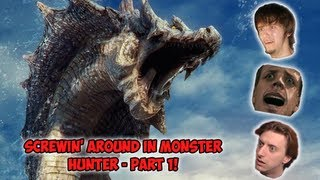 Screwing Around In Monster Hunter 3 - Part 1