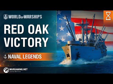 World of Warships - Naval Legends: Red Oak Victory