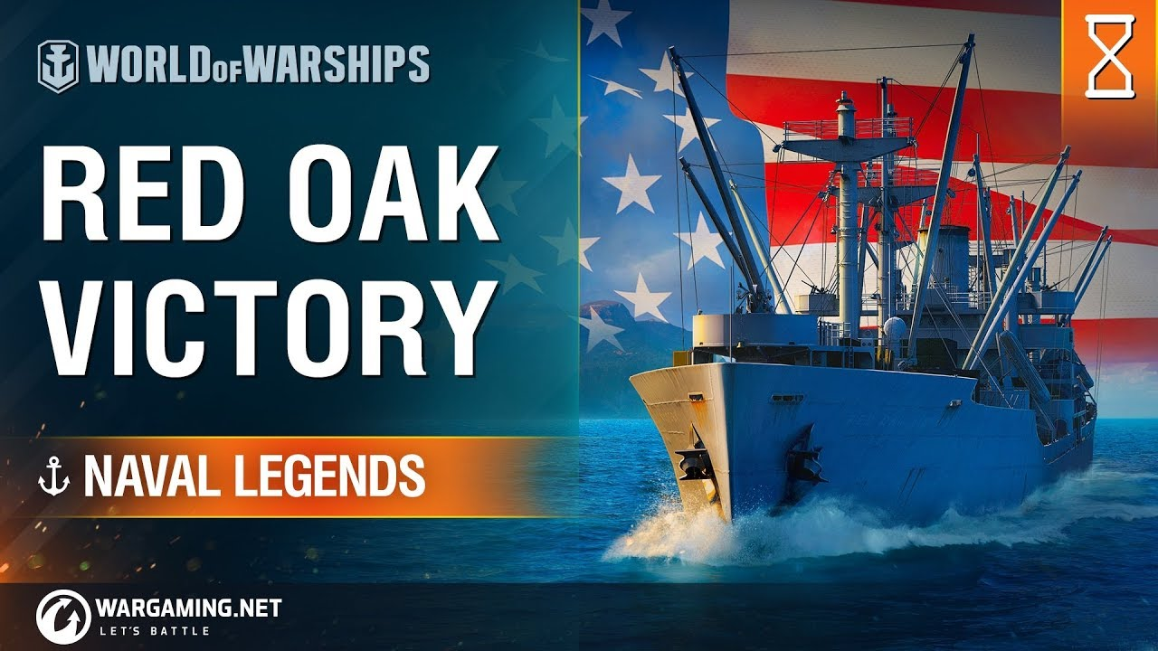 World of Warships – Naval Legends: Red Oak Victory