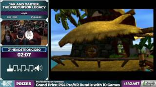 Jak and Daxter: The Precursor Legacy in 25:35 - Awesome Games Done Quick 2017 - Part 151