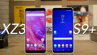 Xperia XZ3 vs Galaxy S9+: will Sony OUTPLAY Sammy?