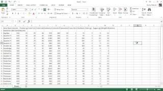 Microsoft Excel 2013 Tutorial - 11 - Formatting Your Worksheet