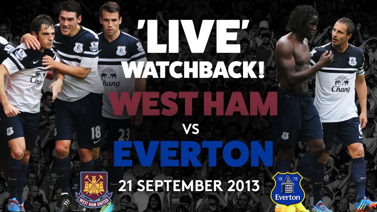 FULL GAME: WEST HAM V EVERTON | 21 SEPTEMBER 2013