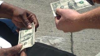 Money Magic Trick For Homeless