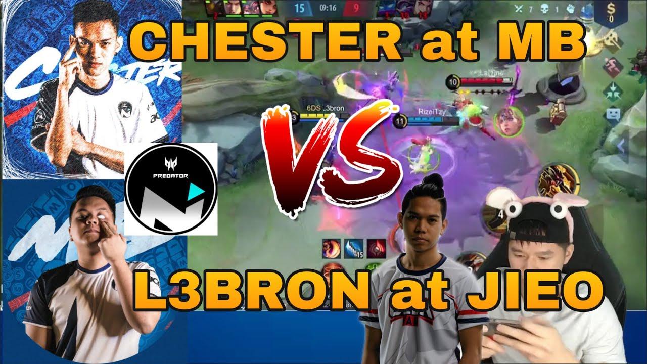 NEXPLAY KAPITAN CHESTER AT MB VS L3BRON AT JIEO | MLBB