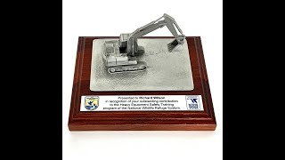 Excavator Operator Award JHM#396 Gift Trophy