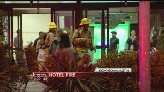 downtown hotel fire