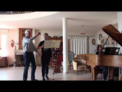 Aart ROZEBOOM works on Mozart clarinet concerto 1st movm