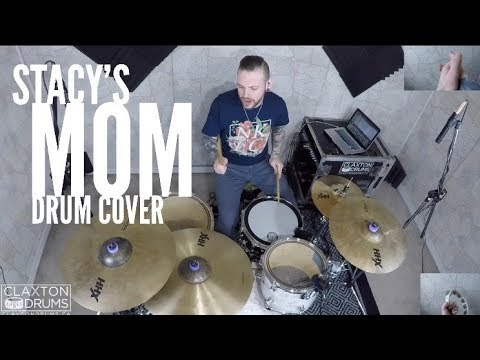 "Fountains of Wayne - ""Stacys Mom"" Drum Cover"