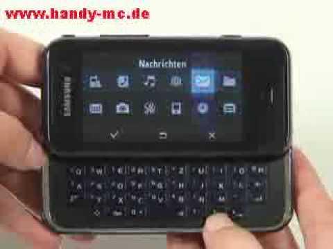 Samsung SGH F700 Qbowl Bedienung