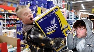 Das passiert wenn TINO alles kaufen darf was er will! 😱