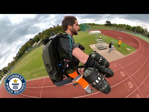 Amazing Jet Suit Sports Records - Guinness World Records