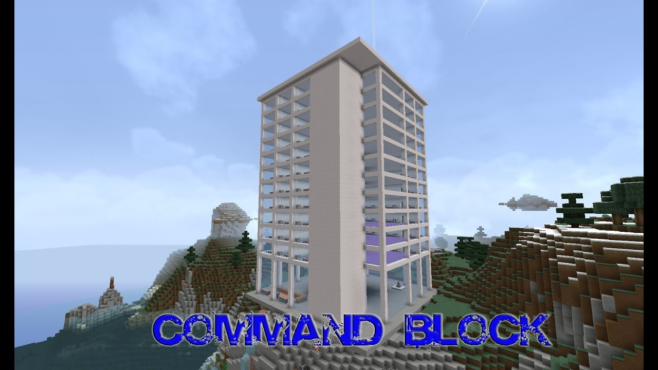 Minecraft Command Block Hotel