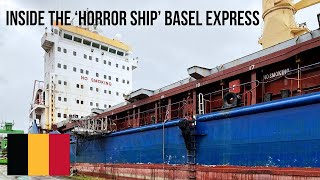 URBEX | Exploring the 'horror ship' Basel Express