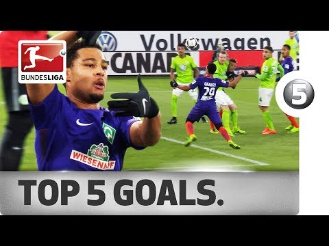 Serge Gnabry - Top 5 Goals - Rising Star Turned Superstar