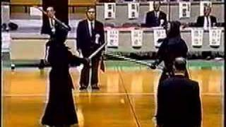 All Japan kendo 8 dan tournament 1999 Clip 6