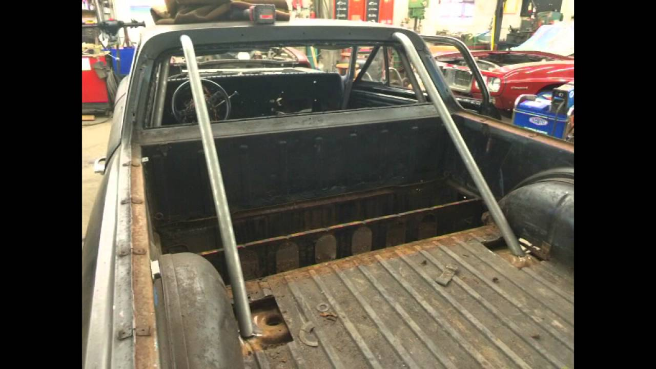 1967 El Camino Pro Touring Build Roll Cage Pt 7 Youtube