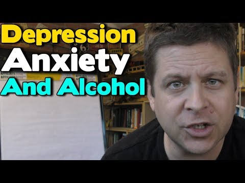 Depression, Anxiety, And Alcohol - The Vicsious Cycle Of Alcoholism And Addiction...
