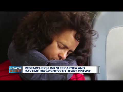 Researchers link sleep apnea and daytime drowsiness to heart disease