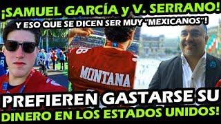 ¡ Senador Samuel Garcia Y Vicente Serrano No Quieren Dejar Su Dinero En Mexico ! Aqui La Explicacion