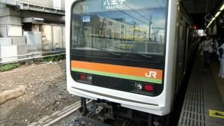 八高・川越線209系3000番台走行音(八王子~川越)