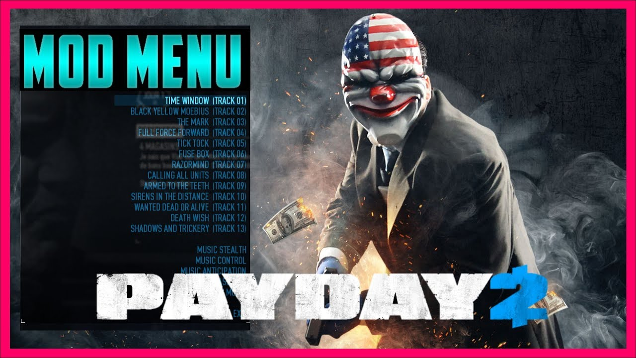 payday 2 mod menu full heist gameplay 720p hd link in the rh youtube com Payday 2 Assault Car-4 Payday 2 Logo