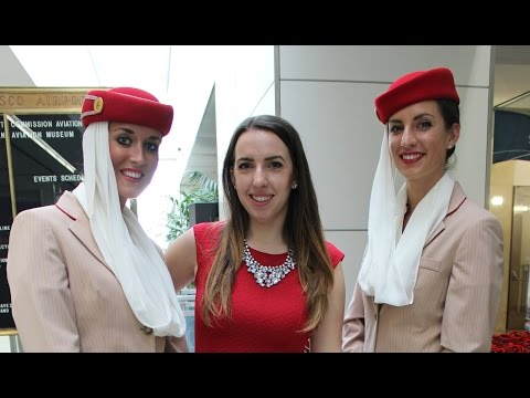 Emirates A380 Debut & VIP Tour at SFO | chelseapearl.com