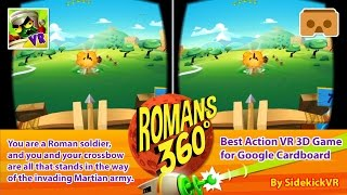 Romans From Mars 360 - Best Action VR 3D Game for Google Cardboard - Android & iOS