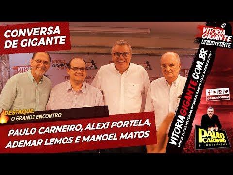 19/04/2019, O Grande Encontro: Alexi Portela, Manoel Matos, Ademar Lemos e Paulo Carneiro