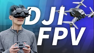 NEXT GEN CINEMATOGRAPHY! DJI FPV HANDS ON REVIEW!