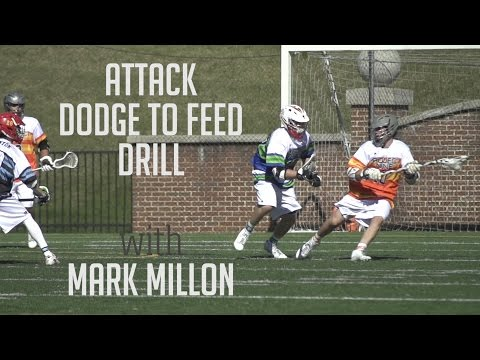 Attack Drill with Mark Millon | Project 9 Lacrosse