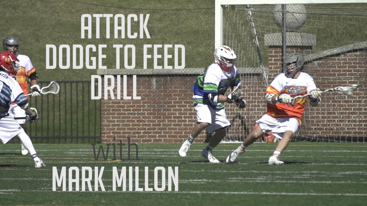 Drill with Mark Millon | Project 9 Lacrosse - YouTube