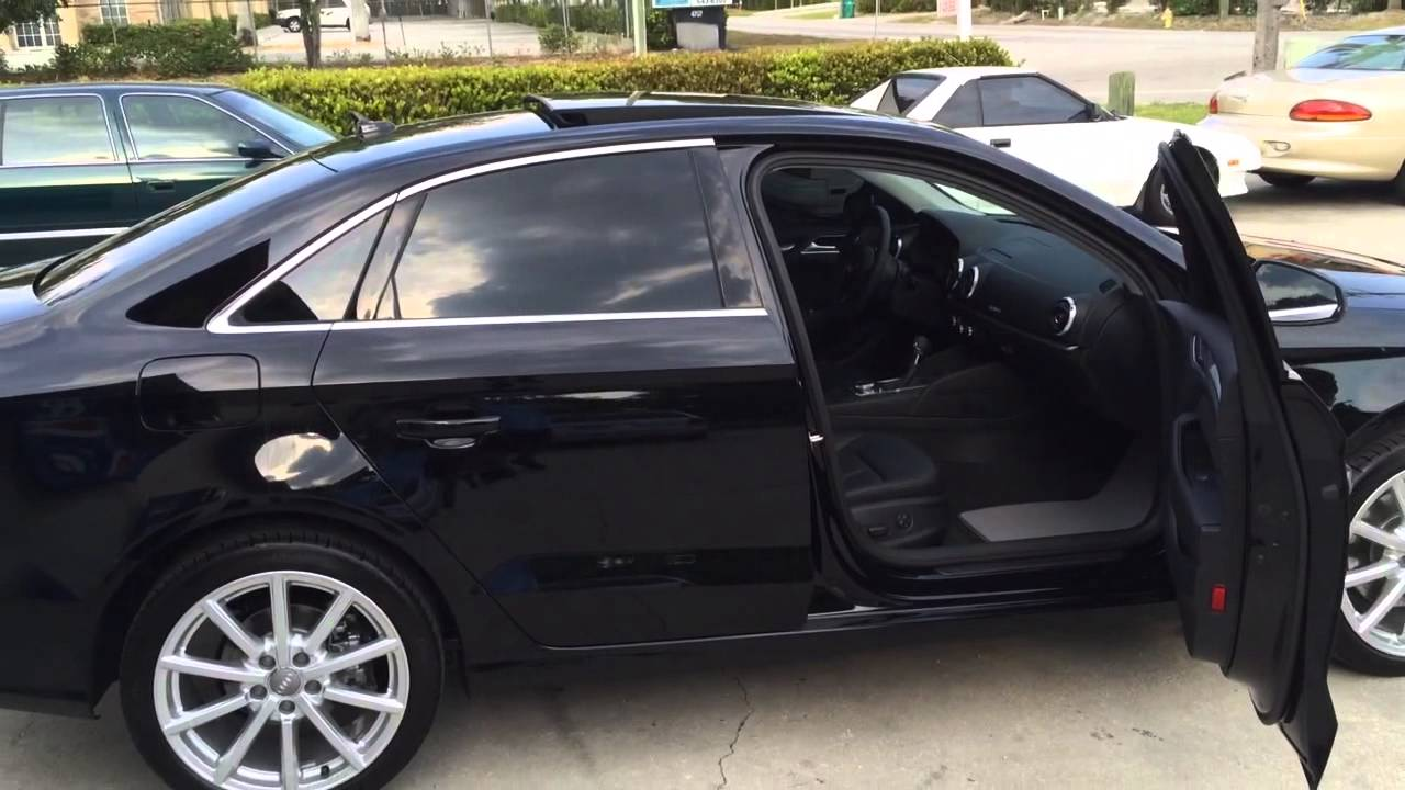 Audi A3 2015 Panaflex Window Tinting Youtube