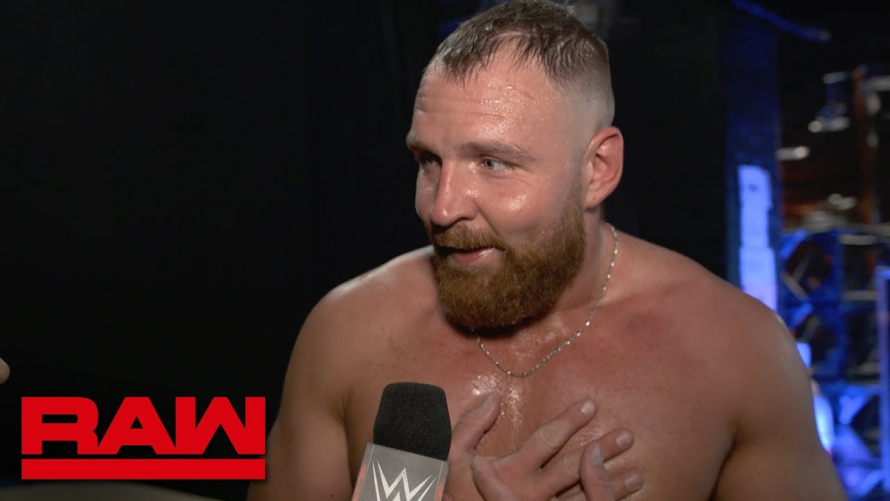 Dean Ambrose sounds off following Nia Jax confrontation: Raw Exclusive, Jan. 28, 2019