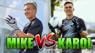 KINGKAROL vs MODERNGOALKEEPING | KEEPERBATTLE