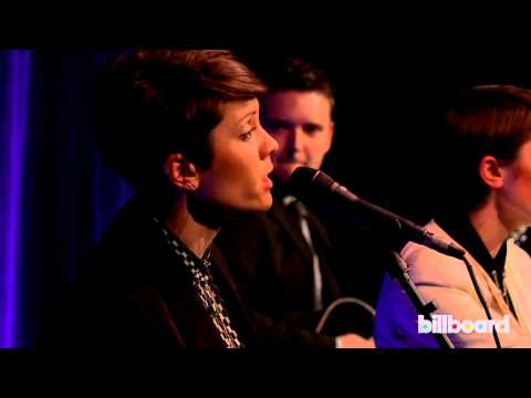 Tegan & Sara perform Just Like a Pill  for P!nk at Billboard Women In Music 2013