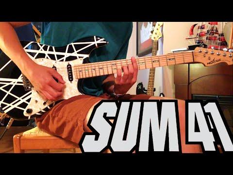 Fake My Own Death - Sum 41 Guitar Cover (HD/STUDIO QUALITY)