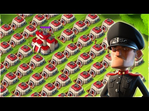 Boom Beach ATTACKING the WORST Bases! Blackguard Base Builder #3!!