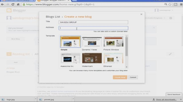 How to create a website without coding throw blogs at free of cost ...