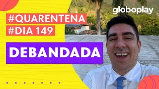Marcelo Adnet imita Bolsonaro falando sobre a debandada | Sinta-se em Casa | Globoplay