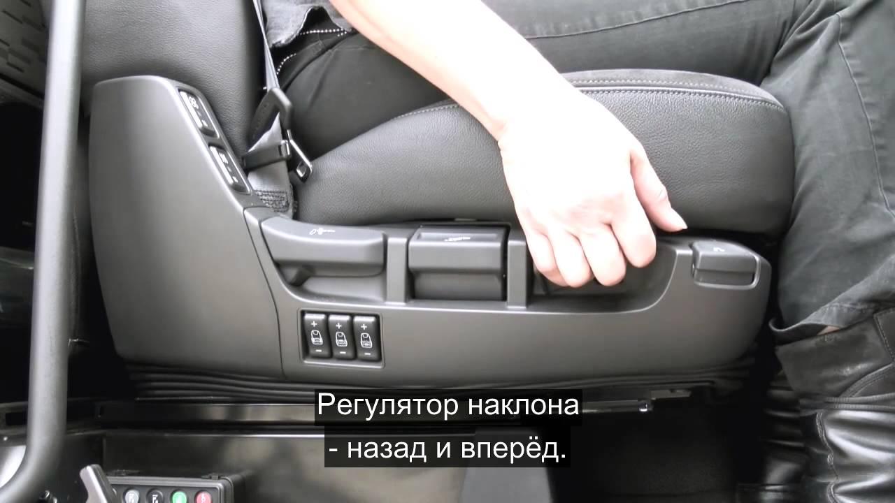 15 DAF XF Euro 6 Сиденье водителя